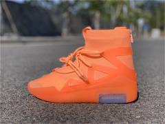 "Authentic Nike Air Fear of God 1 ""Orange Pulse"""