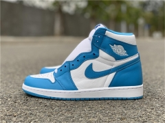 "Authentic Air Jordan 1 Retro OG High ""UNC"""
