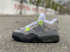 "Authentic Air Jordan 4 SE ""Neon"""