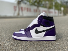 "Authentic Air Jordan 1 ""Court Purple"""