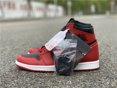 "Authentic Air Jordan 1 Hi 85 ""Varsity Red"""