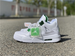 "Authentic Air Jordan 4 ""Pine Green"""
