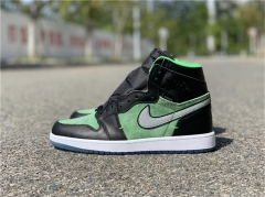"Authentic Air Jordan 1 High Zoom ""Rage Green"""