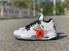 "Authentic Air Jordan 4 WMNS ""Rasta"""