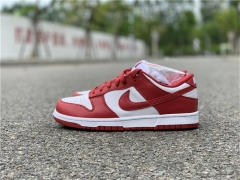 Authentic Nike Dunk Low'University Red'