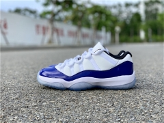 "Authentic Air Jordan 11 Low WMNS ""Concord"""