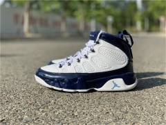 "Authentic Air Jordan 9 ""UNC"""