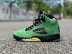 Authentic Air Jordan 5'Oregon Ducks'