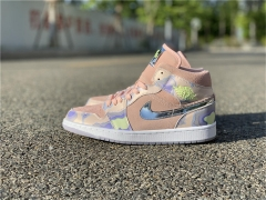 "Authentic Air Jordan 1 Mid SE WMNS ""P (Her) spective"""