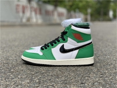 "Authentic Air Jordan 1 High OG WMNS ""Lucky Green"""