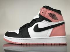 "Authentic Air Jordan 1 ""Rust Pink"" 861428-101"