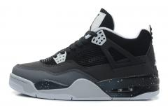 Authentic Air Jordan 4 black